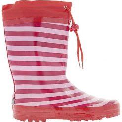 Playshoes - Kalosze dziecięce. Różowe kalosze chłopięce Playshoes, z materiału. W wyprzedaży za 49,90 zł.