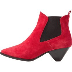 Botki damskie lity: Bronx Ankle boot red