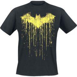 T-shirty męskie z nadrukiem: Batman Dripping Paint T-Shirt czarny