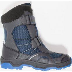 Jack Wolfskin POLAR BEAR TEXAPORE Śniegowce vibrant blue. Szare buty zimowe damskie marki Jack Wolfskin, z materiału. Za 349,00 zł.