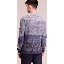 BOSS CASUAL ANSEELMO Sweter dark blue. Niebieskie kardigany męskie marki BOSS Casual, m, z bawełny. W wyprzedaży za 440,30 zł.