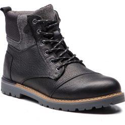 Trapery TOMS - Ashland 10011004 Waterproof Black. Czarne botki męskie Toms, z materiału. Za 599,00 zł.