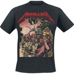 T-shirty męskie z nadrukiem: Metallica Four Horsemen T-Shirt czarny