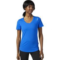 Reebok Koszulka damska Wor SW Tee niebieski r. XS (CD9100). Szare bralety marki Reebok, l, z dzianiny, casualowe, z okrągłym kołnierzem. Za 79,64 zł.