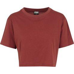 Bluzki damskie: Urban Classics Ladies Short Oversized Tee Koszulka damska czerwono-brązowy