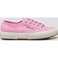 Superga - Tenisówki. Różowe tenisówki damskie Superga, z gumy. W wyprzedaży za 149,90 zł.