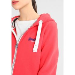 Bluzy damskie: Superdry ORANGE LABEL PRIMARY ZIPHOOD Bluza rozpinana reef red