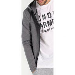 Under Armour SPORTSTYLE ELITE UTILITY  Bluza rozpinana steel full heather. Szare bluzy męskie rozpinane marki Under Armour, m, z bawełny. W wyprzedaży za 377,10 zł.