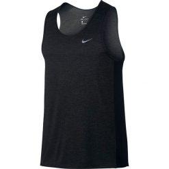 Odzież sportowa męska: koszulka do biegania męska NIKE DRI-FIT MILER TANK / 834238-014 - NIKE DRI-FIT MILER TANK