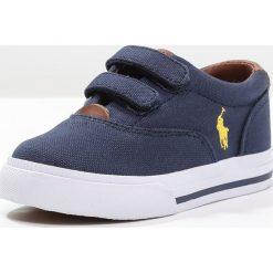 Polo Ralph Lauren VAUGHN Tenisówki i Trampki navy/yellow. Czerwone buty sportowe chłopięce marki Polo Ralph Lauren. Za 359,00 zł.