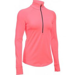 Under Armour Bluza Coldgear Armour 1/2 Zip Brilliance Brilliance Metallic Silver M. Szare bluzy sportowe damskie marki Under Armour, m. W wyprzedaży za 179,00 zł.