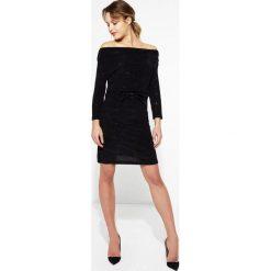 Sukienki hiszpanki: Czarna Sukienka Never Be The Same