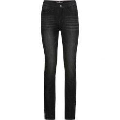 Dżinsy multi-stretch SLIM bonprix czarny. Czarne jeansy damskie slim bonprix. Za 109,99 zł.