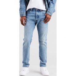 Levi's - Jeansy 501 Justin Timberlake. Brązowe jeansy męskie slim Levi's®, z bawełny. W wyprzedaży za 279,90 zł.
