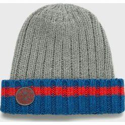 Pepe Jeans - Czapka Tenisson. Szare czapki zimowe męskie Pepe Jeans, z bawełny. Za 99,90 zł.