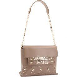 Torebka VERSACE JEANS - E1VSBBE9 70778 148. Brązowe torebki klasyczne damskie Versace Jeans, z jeansu. Za 669,00 zł.