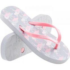 Japonki dziewczęce Flammy Jr Grey Flaming Print/Candy Pink r. 28. Różowe klapki dziewczęce AQUAWAVE. Za 26,51 zł.