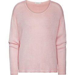 Sweter w kolorze jasnoróżowym. Szare swetry klasyczne damskie marki Vila, l, z dzianiny, z okrągłym kołnierzem. W wyprzedaży za 152,95 zł.