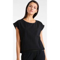 T-shirty damskie: Calvin Klein Underwear CURVE NECK Koszulka do spania black