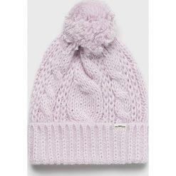 Levi's - Czapka. Brązowe czapki zimowe damskie Levi's®, z dzianiny. Za 119,90 zł.