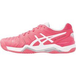 ASICS GELCHALLENGER 11 CLAY Obuwie do tenisa Outdoor rouge red/white/glacier grey. Czarne buty sportowe damskie marki Asics, do biegania. W wyprzedaży za 327,20 zł.