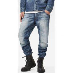 G-Star Raw - Jeansy. Niebieskie jeansy męskie z dziurami marki G-Star RAW. W wyprzedaży za 449,90 zł.