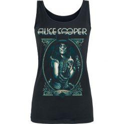 Alice Cooper Portrait Top damski czarny. Czarne topy damskie Alice Cooper, l. Za 74,90 zł.