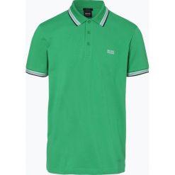 BOSS Athleisurewear - Męska koszulka polo – Paddy, zielony. Zielone koszulki polo BOSS Athleisurewear, m, w paski. Za 349,95 zł.