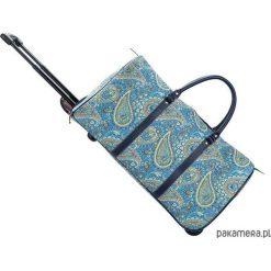 Torba podróżna na kółkach -Ton Sac 'Paisley'. Niebieskie torby podróżne marki Pakamera, paisley. Za 279,00 zł.
