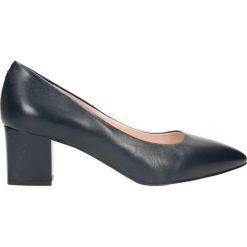 Czółenka CORNELIA. Niebieskie buty ślubne damskie Gino Rossi, ze skóry. Za 299,90 zł.