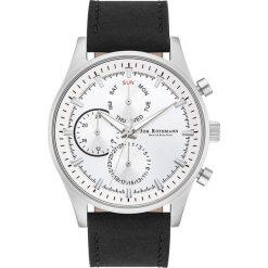 """Biżuteria i zegarki męskie: Zegarek kwarcowy """"Ansgar"""" w kolorze czarno-srebrno-białym"""
