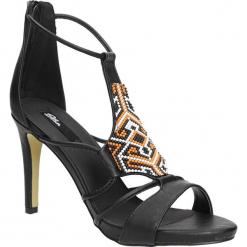 SANDAŁY BLINK 802432-J. Czarne sandały damskie marki Blink. Za 129,99 zł.