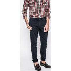 Trussardi Jeans - Spodnie. Szare jeansy męskie z dziurami marki Trussardi Jeans, z bawełny. W wyprzedaży za 339,90 zł.