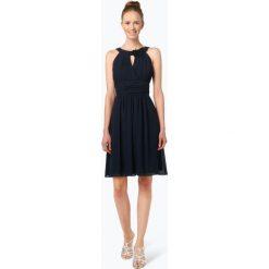 Odzież damska: Marie Lund – Elegancka sukienka damska, niebieski