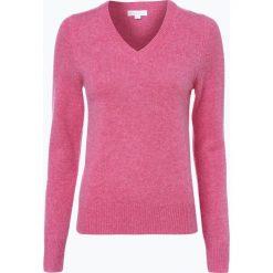 Brookshire - Sweter damski, różowy. Czarne swetry klasyczne damskie marki brookshire, m, w paski, z dżerseju. Za 149,95 zł.