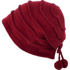 Czapka damska Dwie wisienki bordowa. Czerwone czapki zimowe damskie Art of Polo. Za 66,01 zł.