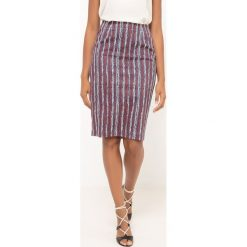 Spódniczki: Spódnica ołówkowa z nadrukiem