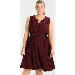 Sukienki hiszpanki: City Chic VINTAGE VERONICA Sukienka letnia ox blood