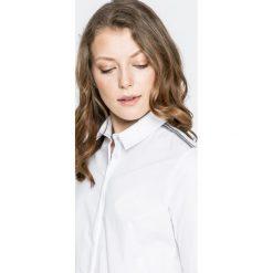 Answear - Koszula Twilight. Szare koszule damskie marki ANSWEAR, s, z bawełny, eleganckie, z klasycznym kołnierzykiem, z długim rękawem. W wyprzedaży za 99,90 zł.