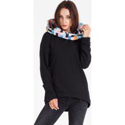 Bluzy damskie: Naoko - Bluza Cosy Aquarelle Noir x Edyta Górniak