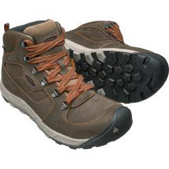 Buty trekkingowe męskie: Keen Buty męskie Westward Mid Leather dark olive/rust r. 41 (1018012)