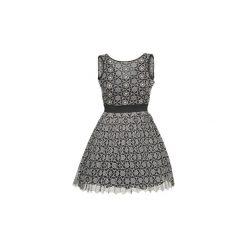 Sukienki krótkie Manoush  DAISY. Szare sukienki mini marki Manoush, z krótkim rękawem. Za 1847,20 zł.