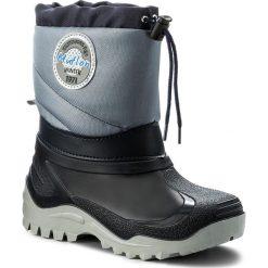 Buty zimowe chłopięce: Śniegowce MUFLON – 32-468CH Granatowy 1