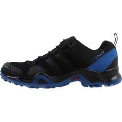 Adidas Performance TERREX AX2R Obuwie hikingowe black/blue. Czarne buty sportowe męskie adidas Performance, z materiału, outdoorowe. W wyprzedaży za 359,10 zł.