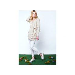 Sweter SISLEY. Brązowe swetry klasyczne damskie Intensi, m, z bawełny. Za 370,00 zł.