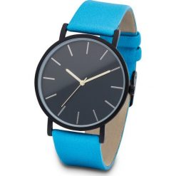 Zegarek na rękę bonprix turkusowo-czarny. Niebieskie zegarki damskie bonprix, sztuczne. Za 34,99 zł.