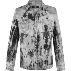 Black Premium by EMP Captain Fantastic And The Dirty Cowboy Koszula szary. Czarne koszule męskie na spinki marki Black Premium by EMP. Za 224,90 zł.