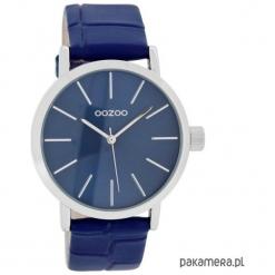 Zegarek OOZOO C8422 blue croco. Niebieskie zegarki damskie Pakamera. Za 189,00 zł.