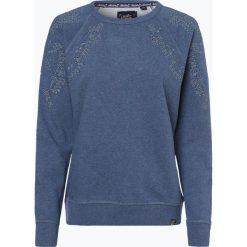 Superdry - Damska bluza nierozpinana, niebieski. Niebieskie bluzy damskie marki Superdry, m, w koronkowe wzory, z koronki. Za 299,95 zł.