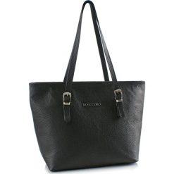 Torebki klasyczne damskie: Skórzana torebka w kolorze czarnym – (S)40 x (W)30 x (G)13 cm